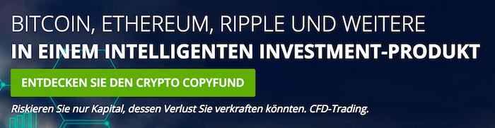 Investieren Sie in unterschiedliche Kryptowährungen