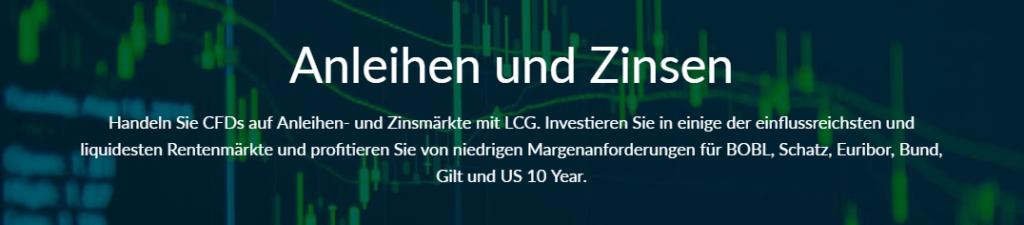LCG Forex handeln