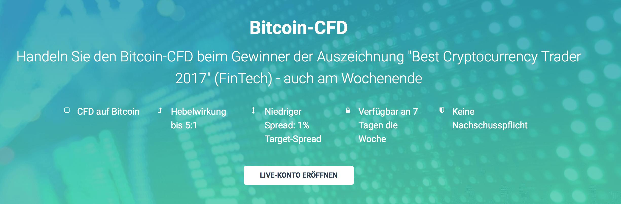 Bitcoin-CFD beim Broker XTB handeln