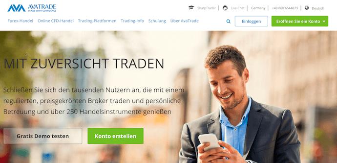 AvaTrade Krypto Erfahrungen von Brokervergleich.net