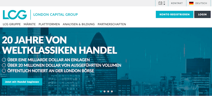 20 Jahre London Capital Group
