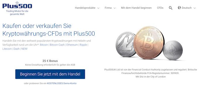 Plus500 Krypto Erfahrungen von Brokervergleich.net