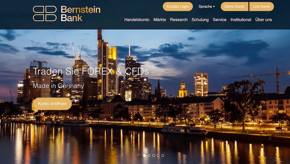 Bernstein Bank Erfahrungen von Brokervergleich.net
