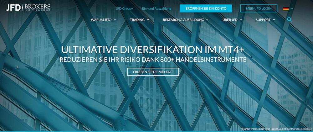JFD Brokers Krypto Erfahrungen von Brokervergleich.net