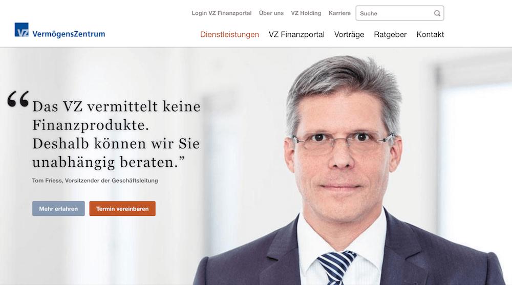 VermögensZentrum Erfahrungen von Brokervergleich.net