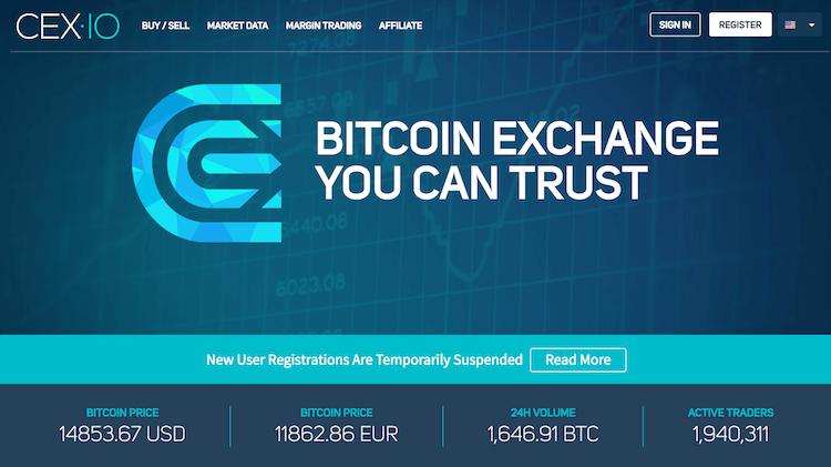 CEX.io Erfahrungen von Brokervergleich.net