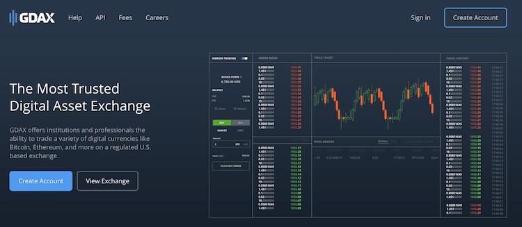 GDAX Erfahrungen von Brokervergleich.net