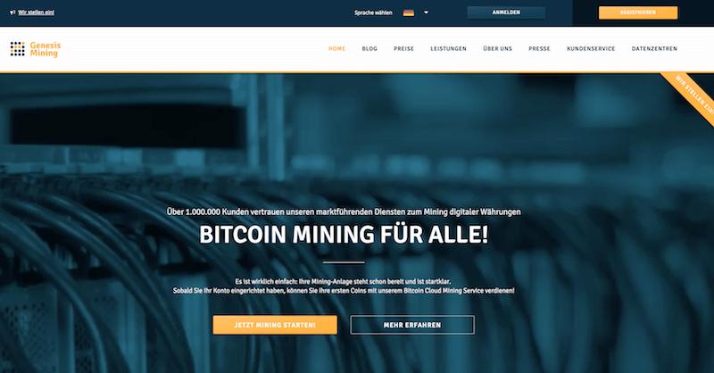 Mining Anbieter Vergleich von Brokervergleich.net