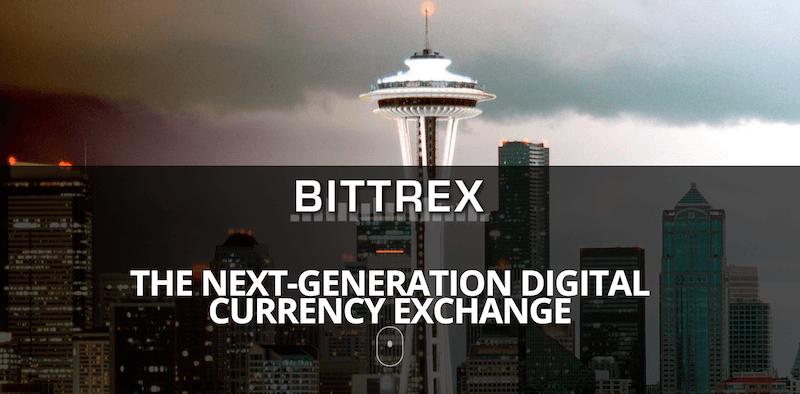 Bittrex Homepage