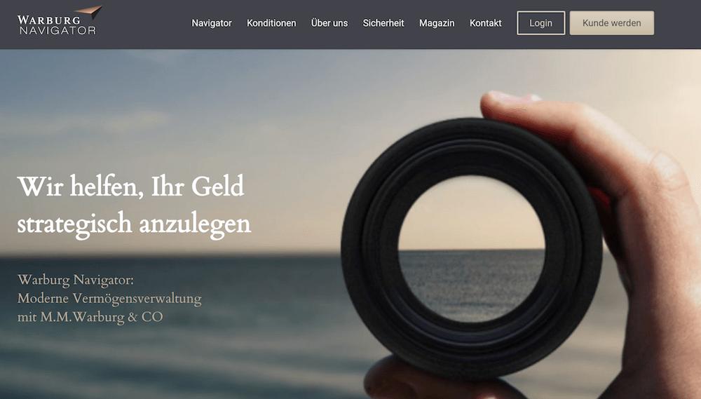 Warburg Navigator Erfahrungen von Brokervergleich.net