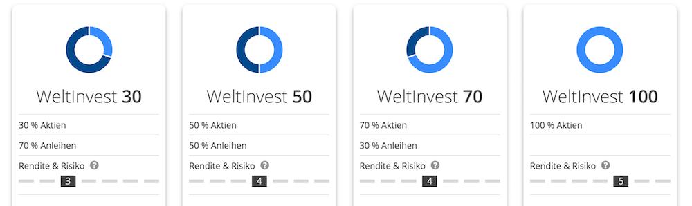 WeltInvest Anlagestrategien