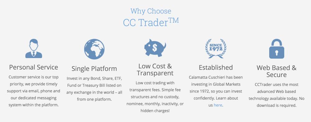 Die Vorteile von ccTrader im Überblick