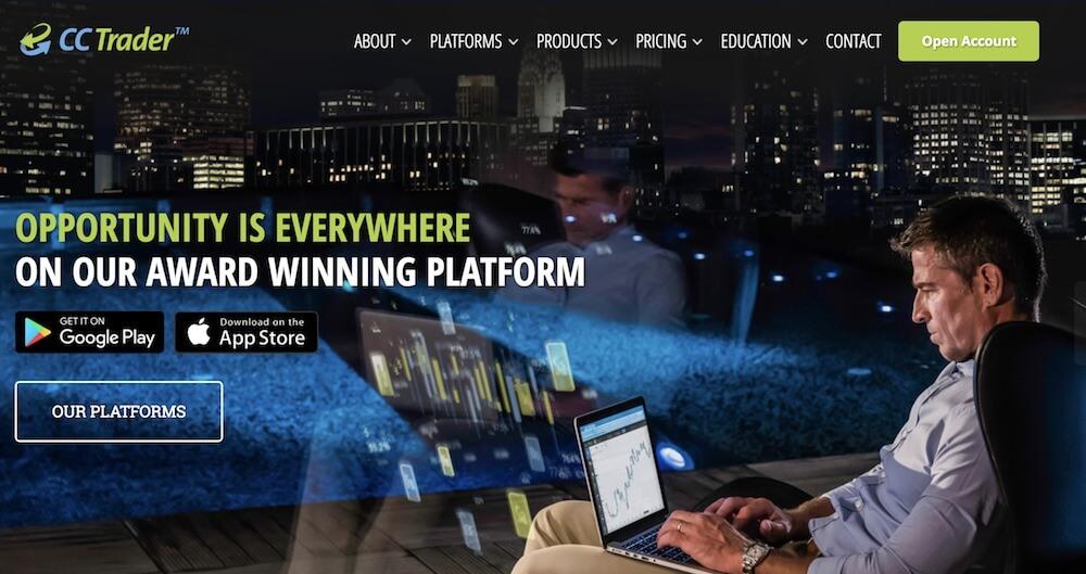 ccTrader bietet eine ausgezeichnete, leistungsstarke Plattform