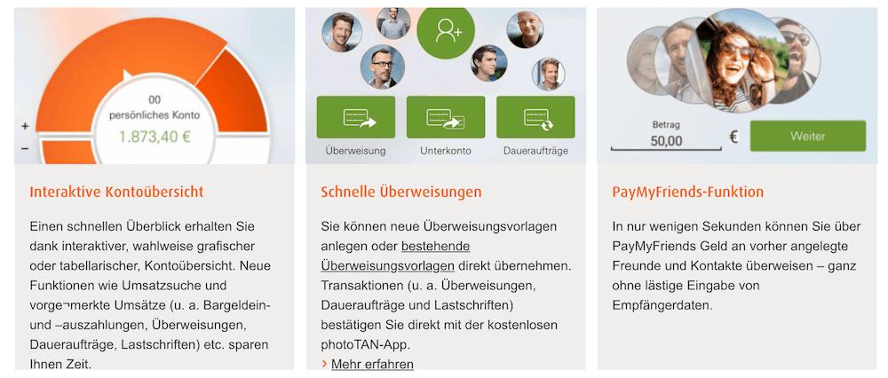 norisbank App Highlights