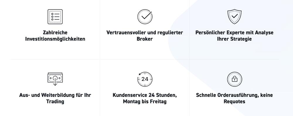 Der Online-Broker XTB bietet seinen Kunden viele Vorteile