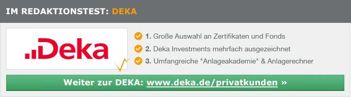 Deka Depot Erfahrungen von Brokervergleich.net