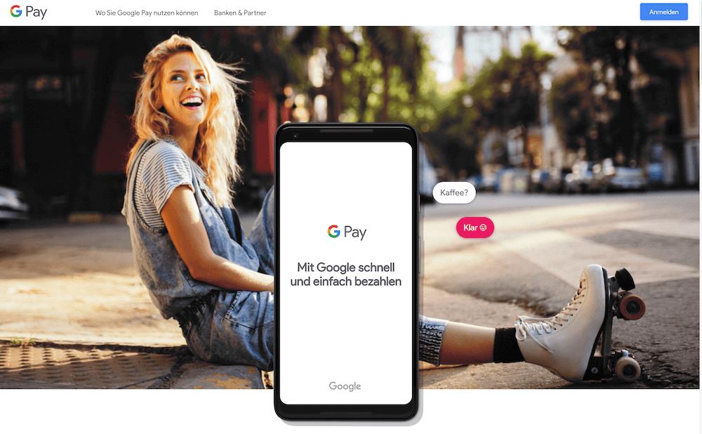 Google Pay Zahlungsdienst