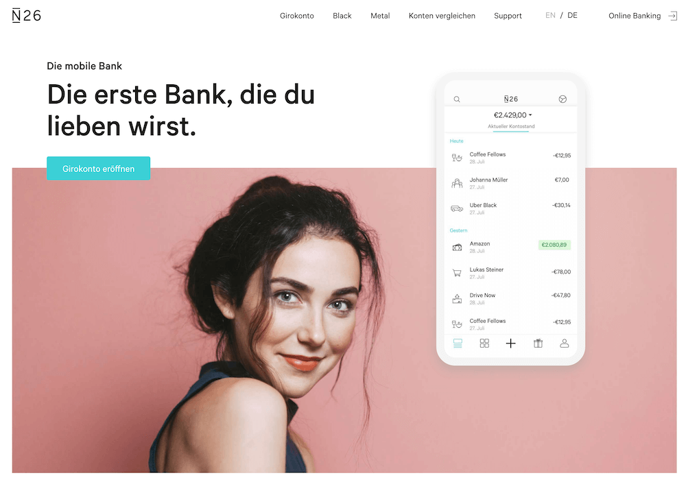 N26 - Die mobile Bank