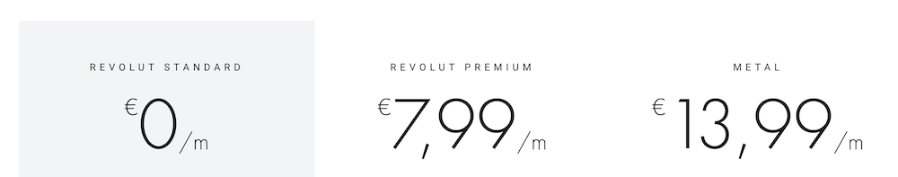 Revolut Girokonto Kosten