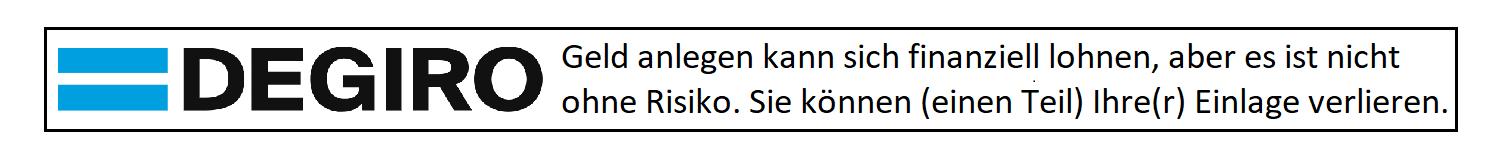 DEGIRO RISOKOHINWEIS
