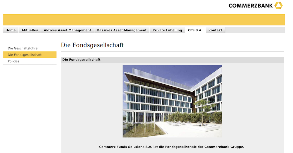 Commerzbank Funds Solutions