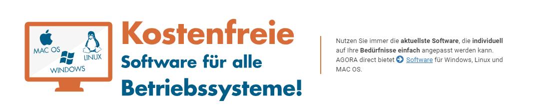 Agora Direct Kostenfreie Software