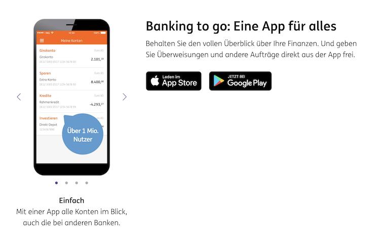 ING Banking to go App