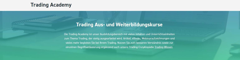 Vergrößern Sie Ihr Wissen mit der XTB Trading Academy