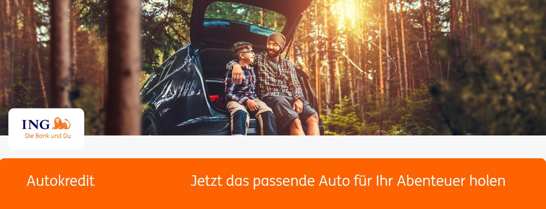 Die ING bietet auch einen Autokredit an