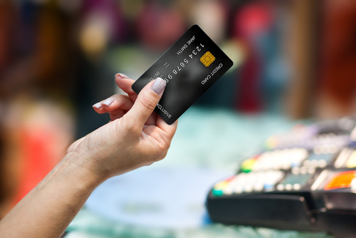 kreditkarte und der cvc