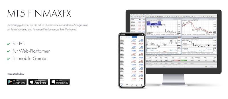 FinmaxFX Handelplattformen