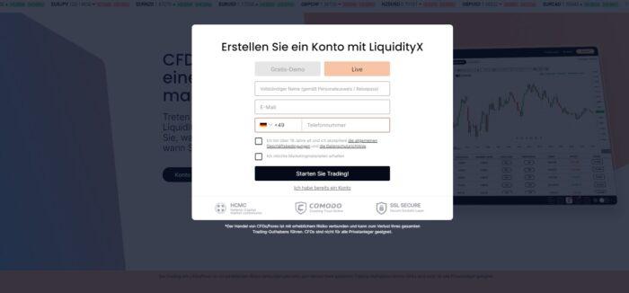 LiquidityX Testbericht